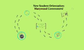 2016 Orientation Commuter Session