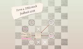 Form 5. DNA mock feedback 2018