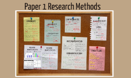 STM Paper 1 Research Methods