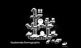 Guatemala Demographic