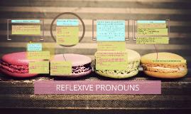 Copy of REFLEXIVE PRONOUNS