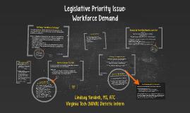 Legislative Priority Issue: