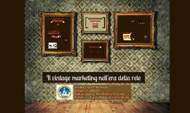 Il vintage marketing nell'era della rete