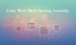 Unity Week Opener