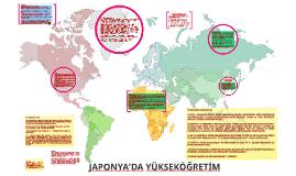 JAPONYA'DA YÜKSEK ÖĞRETİM
