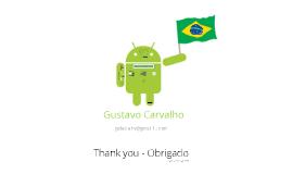 Prezume - Gustavo Carvalho