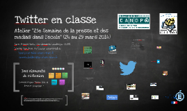 Copy of Twitter en classe
