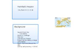 Hannibal's Invasion