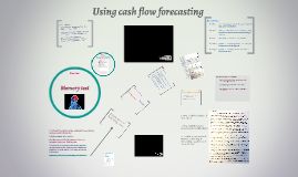 Using cash flow forecasting