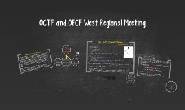 OFCF West Regional Meeting
