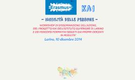 ERASMUS+ KA1 - MOBILITà DELLE PERSONE