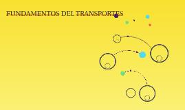 FUNDAMENTOS DEL TRANSPORTES