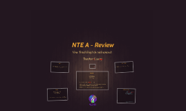 Cópia de NTE A - Review