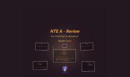 NTE A - Review
