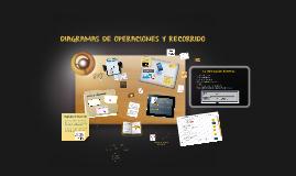 DIAGRAMA DE OPERACIONES Y RECORRIDOS