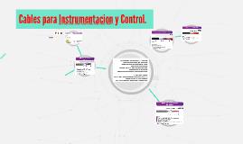 Cables para Instrumentacion y Control.