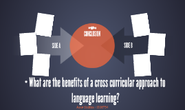 • What are the benefits of a cross curricular approach to la