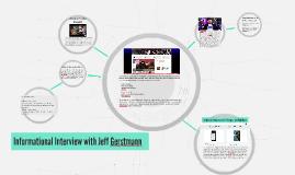 Informational Interview with Jeff Gerstmann