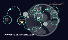 PROYECTO DE INVETIGACION