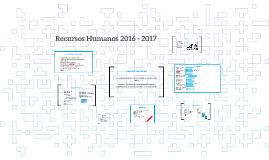 Recursos Humanos 2016 - 2017