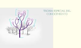 Copy of TEORIA ESPECIAL DEL CONOCIMIENTO