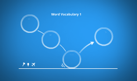 Word Vocabulary 1