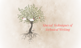 Copy of Special Techniques of Technical Writing
