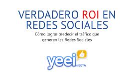 ROI en Redes Sociales