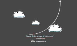Aula Gestão da Tecnologia da Informação - 1oBim