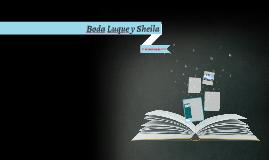 Boda Luque y Sheila