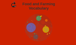 Food and Farming Vocabulary