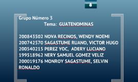 Guate Nominas