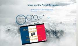 Copy of The Affects of the French Revolution on Music