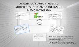 ANÁLISE DO COMPORTAMENTO MOTOR DOS ESTUDANTES DO ENSINO MÉDI