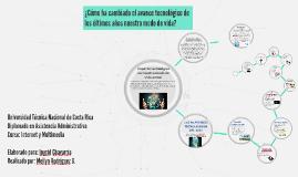 Copy of ¿Cómo ha cambiado el avance tecnológico de los últimos años