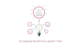 Is Creativity Worth Instructional Time?
