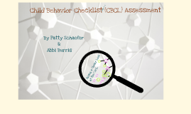 Copy of The Child Behavior Checklist Assessment