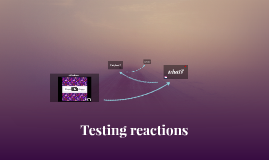Testing Reactions