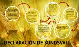 Copy of DECLARACIÓN DE SUNDSVALL