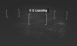 K-12 Counseling