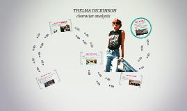 THELMA DICKINSON