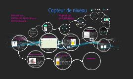 Copy of capteur de niveau