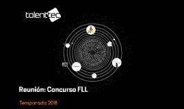 Reunión: Concurso FLL
