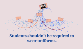 students shoudn t wear uniforms Debate about whether or not kids should have to wear school uniforms i think that we shouldn't wear uniforms anymore, kids don't get to have the freedom to.