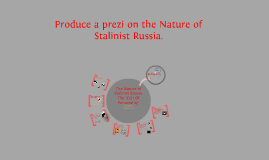 Produce a prezi on the Nature of Stalinist Russia. [Submission]