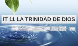 IT 11 LA TRINIDAD DE DIOS