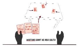 Copy of WASTONG GAMIT NG MGA SALITA
