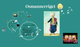 Osmannerriget - et mægtigt emperium