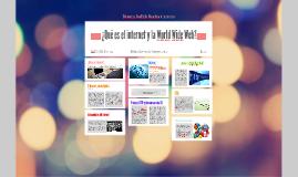 ¿Qué es el internet y la Word Wide Web?