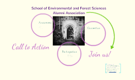 Copy of SEFS Alumni Association: Awareness, Connection, Participation